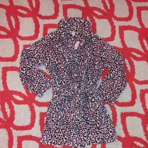 NWT Victoria's Secret Heart Print Robe